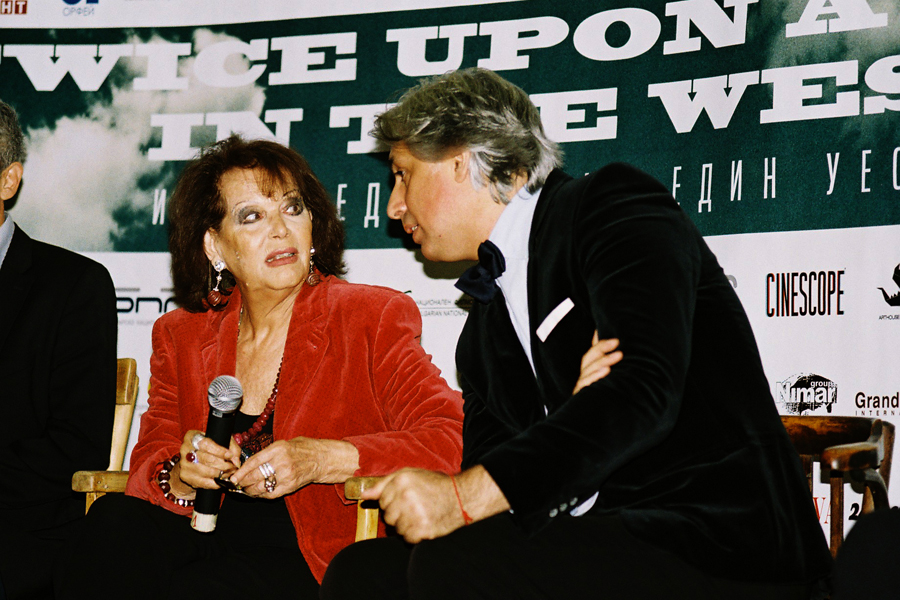 Claudia Cardinale in Kino Odeon