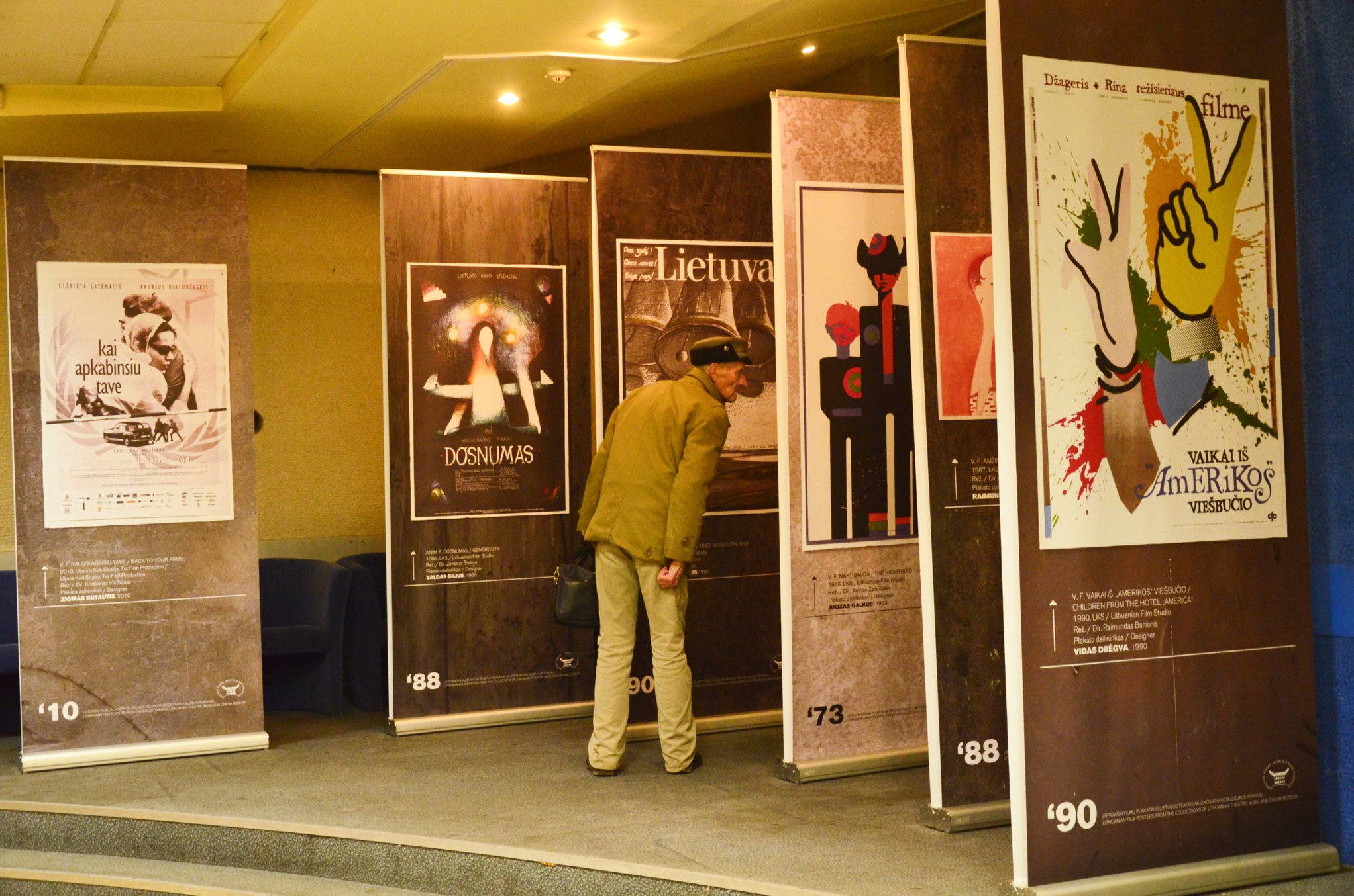 Exhibition of posters of Lithuanian films