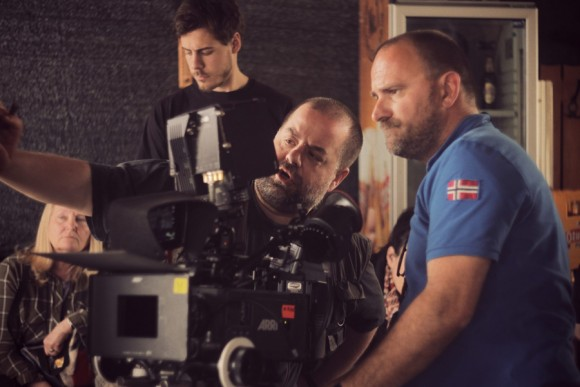 Director Kristijan Milić (left) and DoP Mirko Pivčević (right)