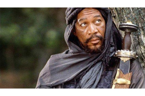 Morgan Freeman in The Last Knights, dir. Kazuaki Kiriya