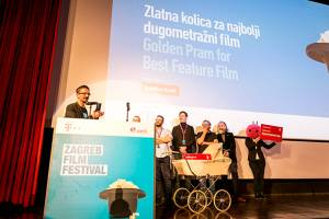 Alen Drljevic, director of Men Don't Cry, Winner of Golden Pram for Best Feature