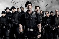 Sylvester Stallone Shooting Expendables 3 in Bulgaria