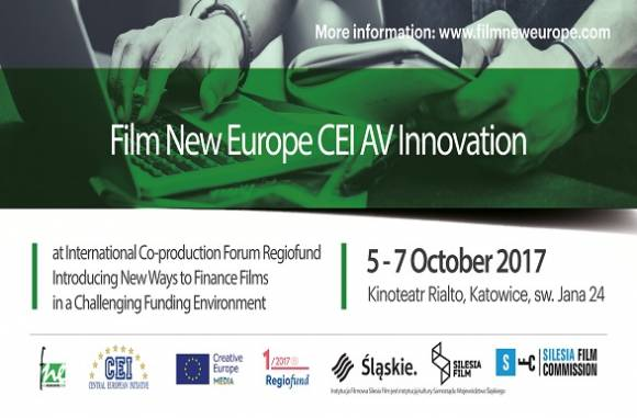 FNE CEI AV Innovation Days at the International Co-Production forum Regiofund