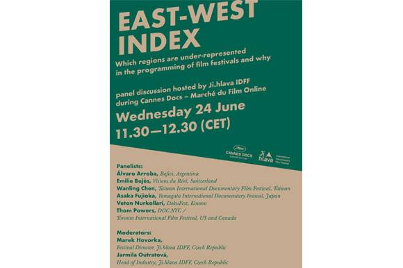 Ji.hlava IDFF East West Index: Which regions are under-represented at film festivals and why?
