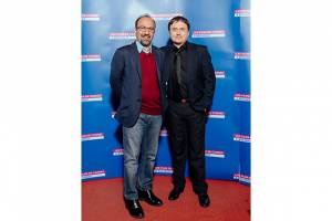 Cristian Mungiu and Asghar Farhadi, one of the festival's guests