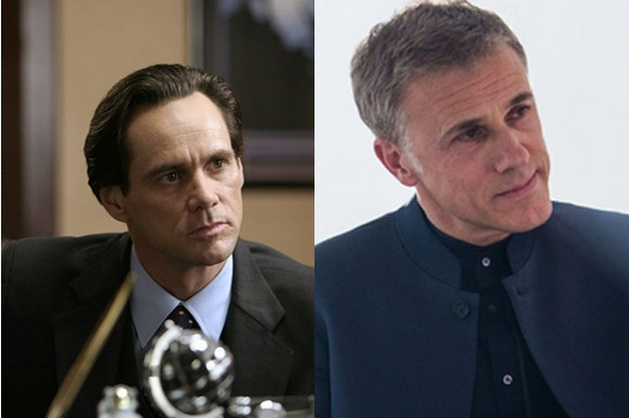 Jim Carey in I Love You Phillip Morris (2009) and Christoph Waltz in Spectre (2015)