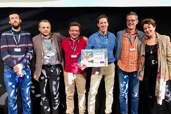 Winners of the Eurimages Co-production Development Award