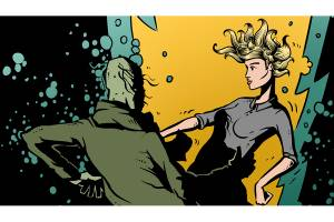 Bouquet – The Comic Book: ballad The Water goblin