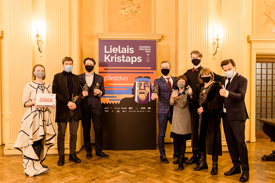 Team of Blizzard of Souls with the awards, photo: Agnese Zeltiņa