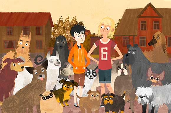 Jacob Mimmi and the Talking Dogs by Edmunds Jansons