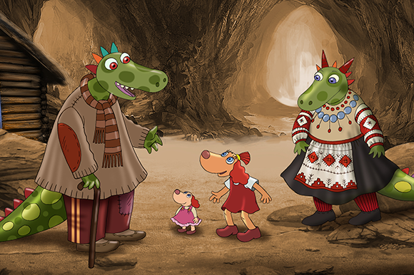 Lotte and the Lost Dragons by Janno Põldma and Heiki Ernits