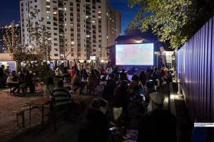 Les Films de Cannes à Bucarest 2020 outdoor at Fabrica Grivița