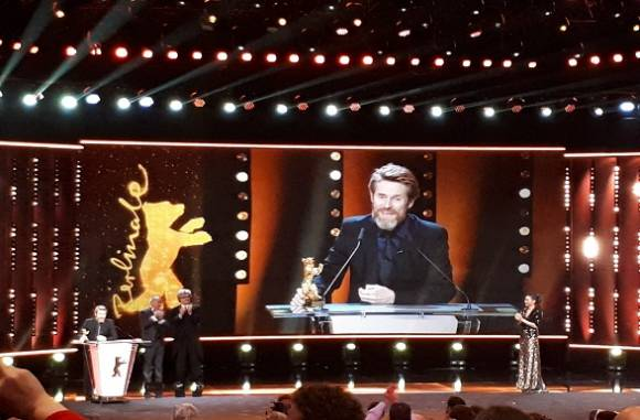 FNE at Berlinale 2018: Willem Dafoe receives Honourary Golden Bear