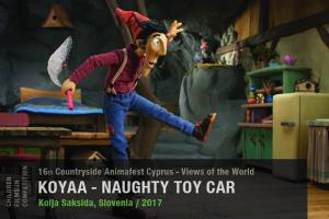 Koyaa - Naughty Toy Car by Kolja Saksida