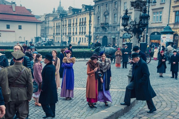 Music, War and Love shooting in Krakow
