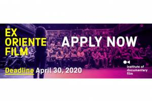 Ex Oriente Film 2020 deadline approaching