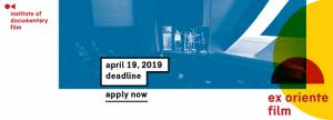Ex Oriente Film 2019 deadline approaching