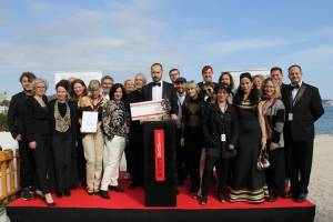 THE KRZYSZTOF KIESLOWSKI SCRIPTEAST AWARD 2019 FOR  THE BEST SCRIPT FROM EASTERN EUROPE  HAS BEEN PRESENTED  AT THE 72ndCANNES FILM FESTIVAL FOR THE THIRTEENTH TIME