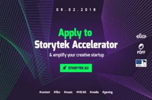 FNE AV Innovation: Storytek Accelerator Calls for Applications