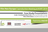 FNE at KVIFF 2014: Invitation to Film New Europe Coproduction Meeting