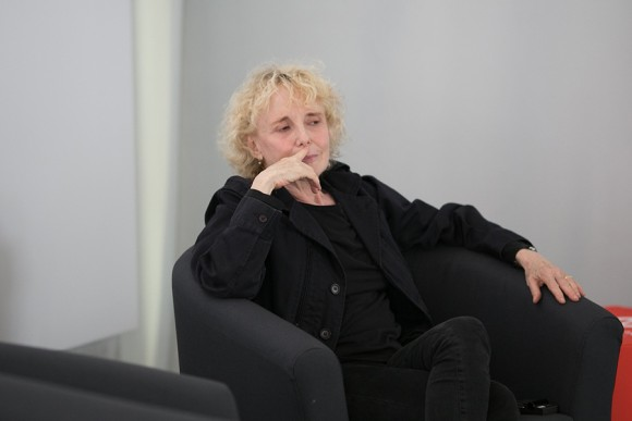 Claire Denis during Masterclass in Wroclaw