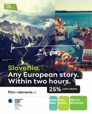 Slovenia's second presentation at the film location market in London